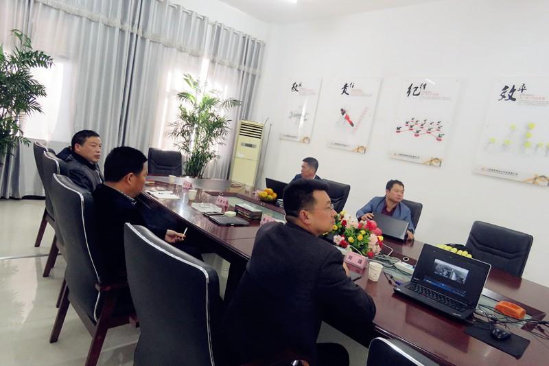 天津中德传动有限公司徐胜军总经理一行莅临精密考察工作