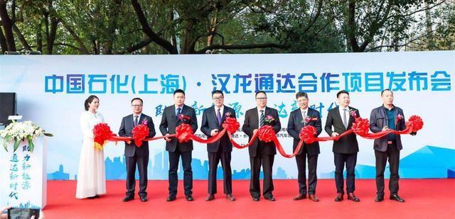中石化携手汉龙通达在沪建立新能源充电桩
